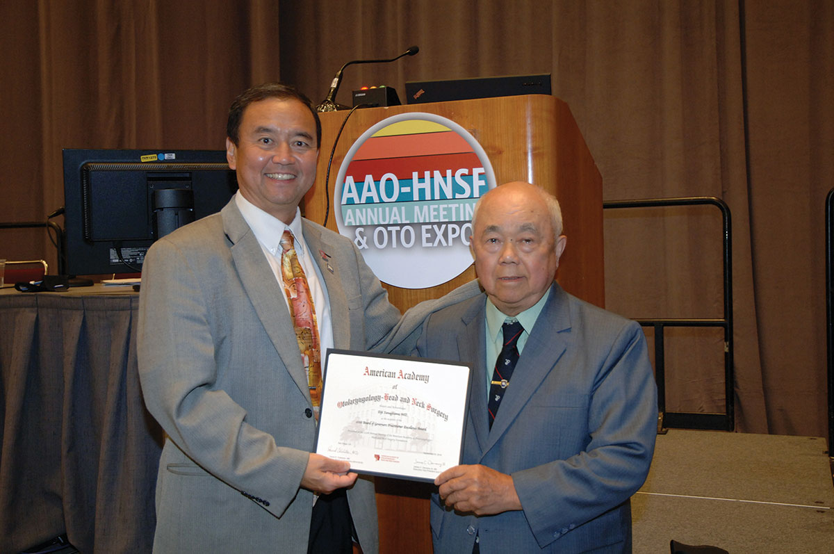 Yanagisawa Receives Practitioner Excellence Award