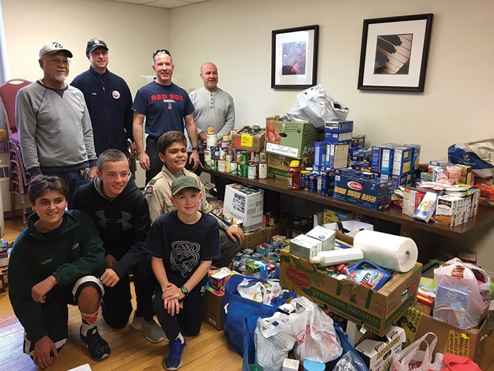 Woodbridge Scouts Complete Several Local Service Projects Over the Holidays