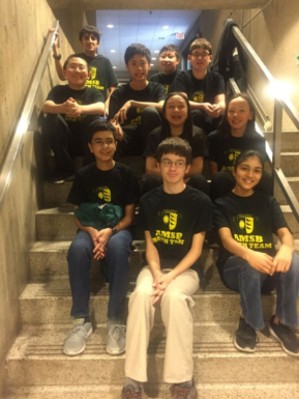 Amity Middle School Bethany (AMSB) Team Places Second At Math Counts Competition