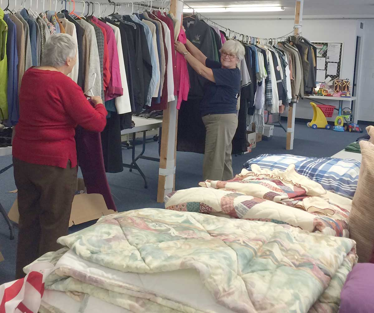 The Church of the Good Shepherd Spring Rummage Sale