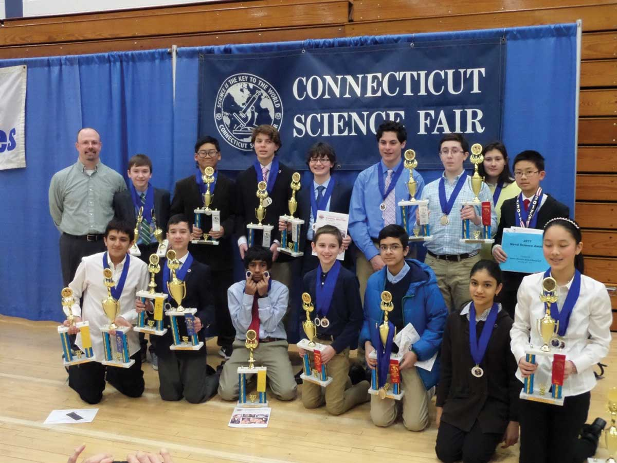 AMSB Robotics Team Wins 39 Awards at Annual Science Fair