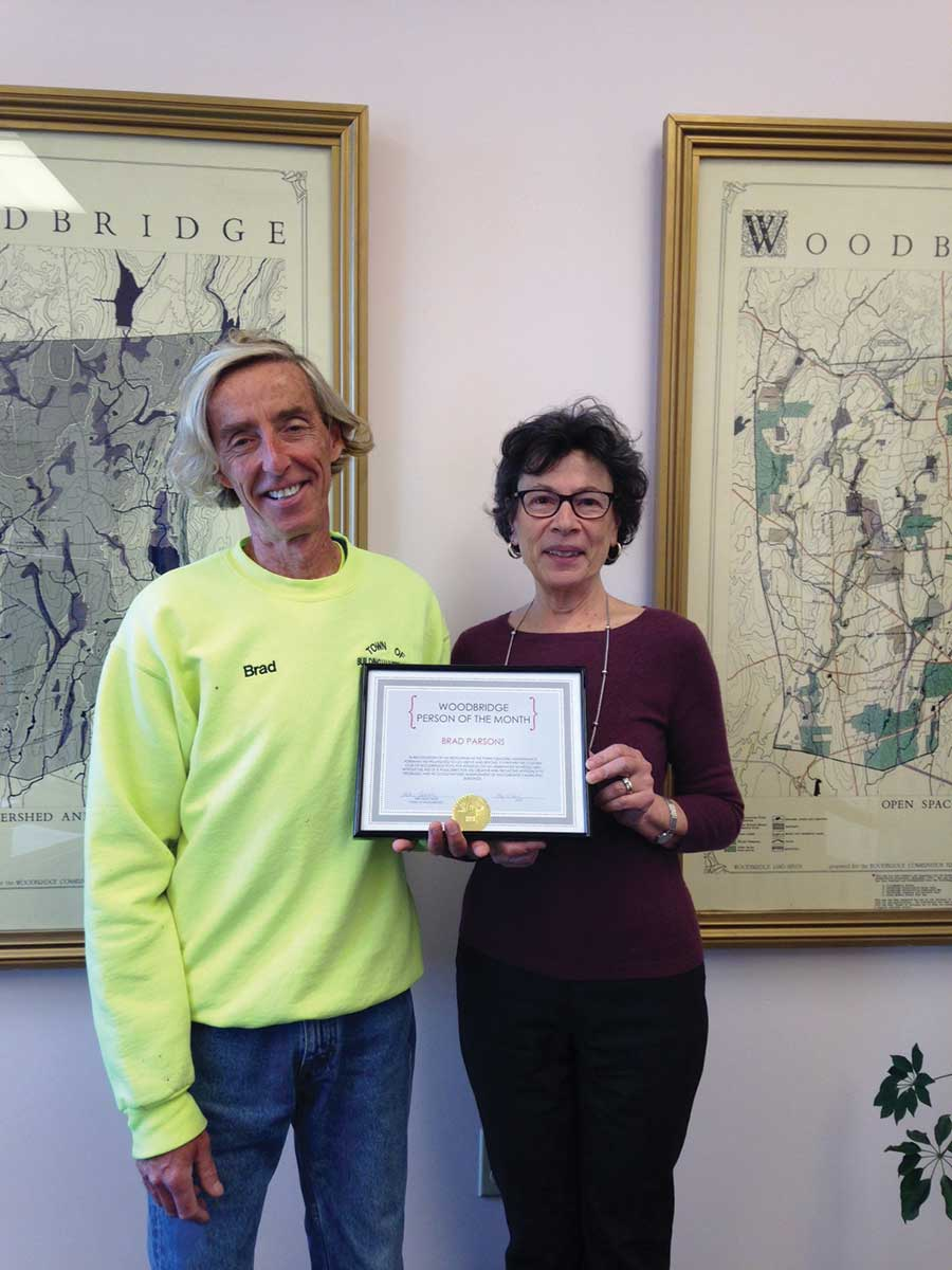 First Selectman Names Brad Parsons as Person of the Month