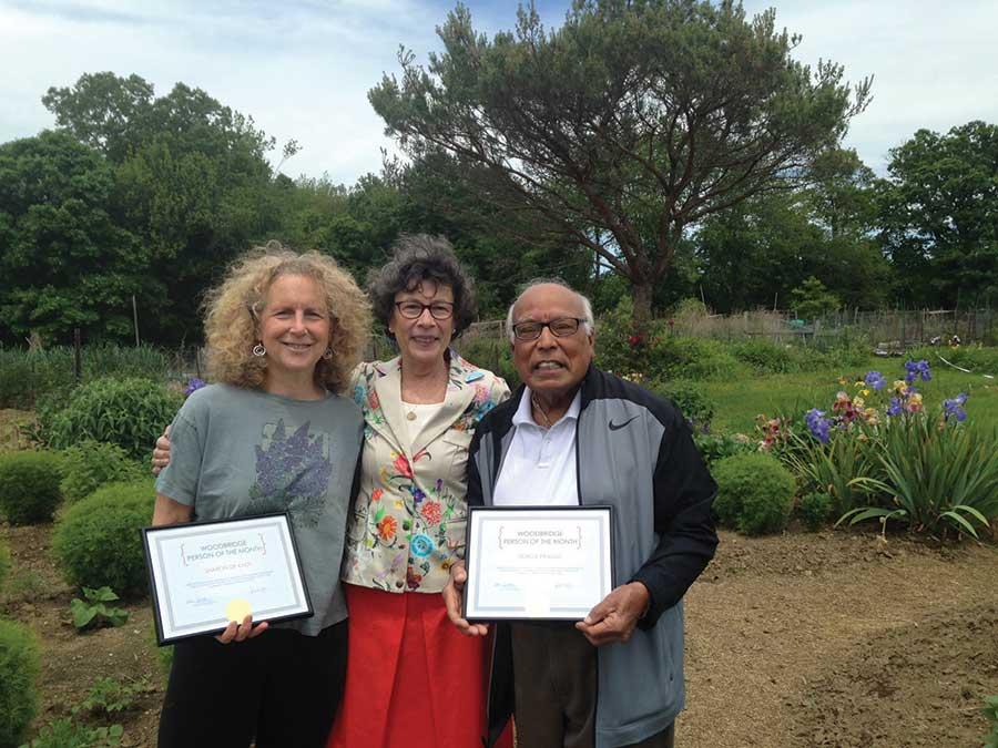First Selectman Names Drs. Sharon de Kadt and Durga Prasad as Persons of the Month
