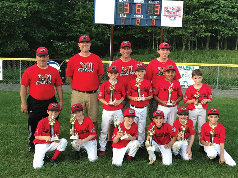 Muckdogs Minors and Majors Champions