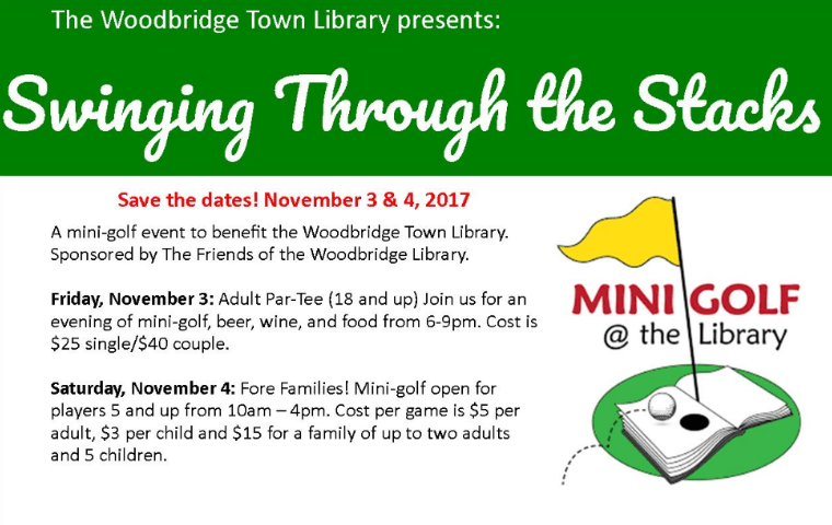 Woodbridge Town Library November Programs