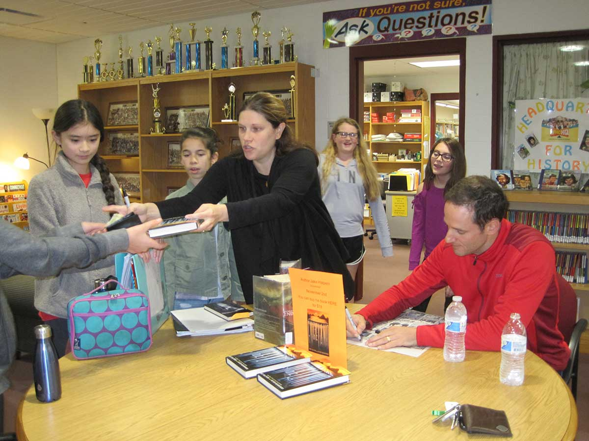 Local Author Visits Amity Middle School