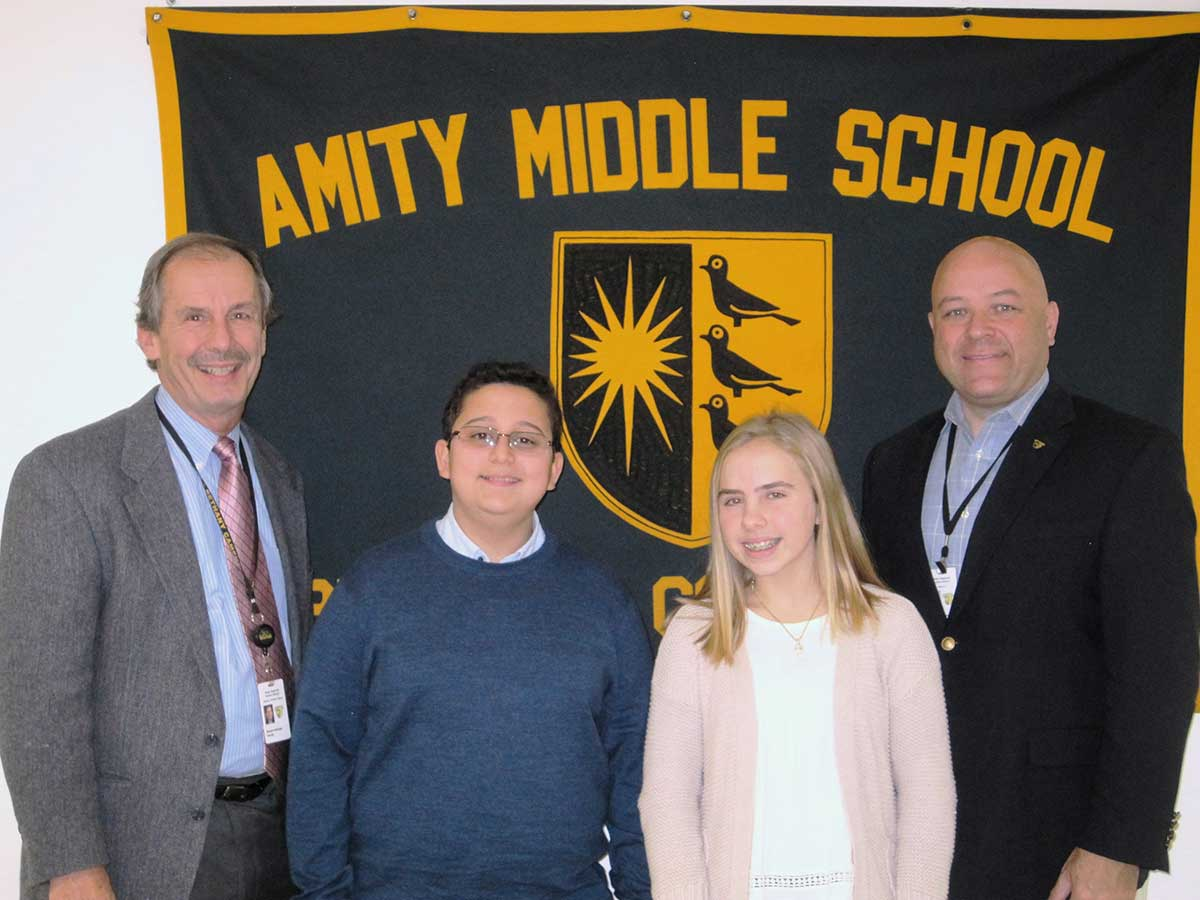 Amity Middle School – Bethany Campus CAPSS Award 2017
