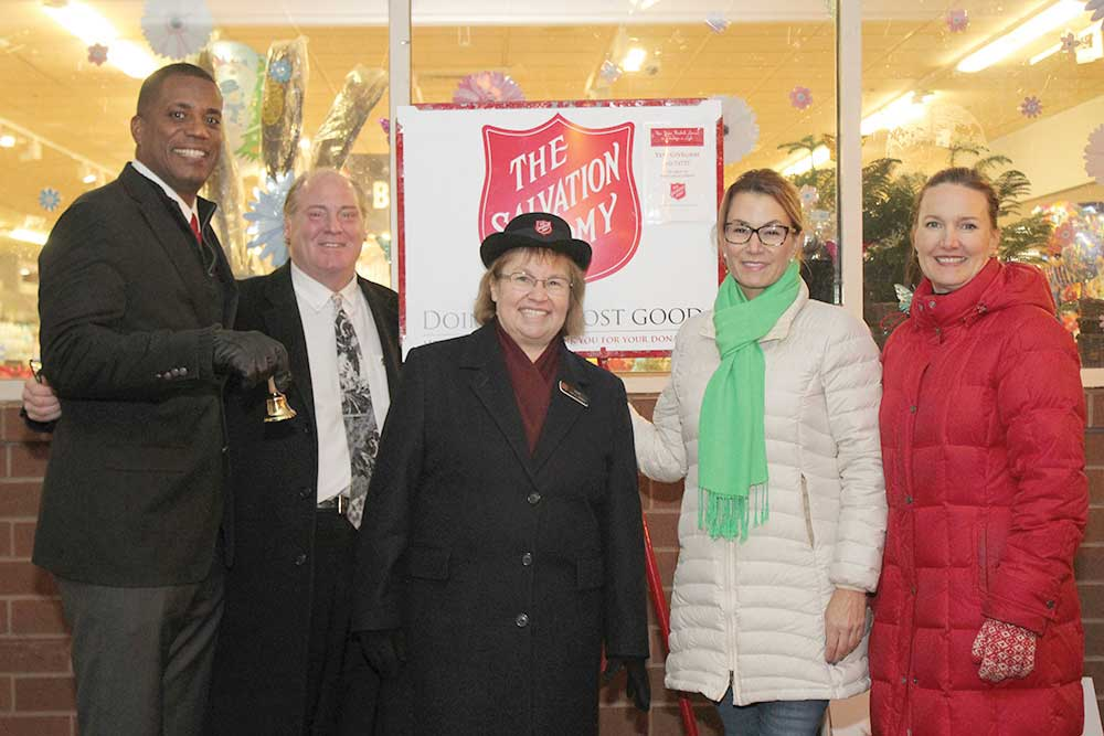 Local Lawmakers Help Raise Money for the Salvation Army
