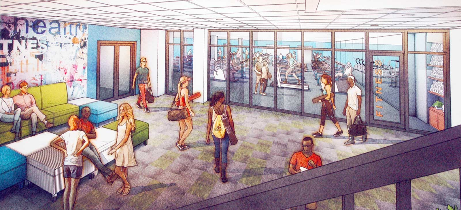 Fitness Facility Moves Back to JCC