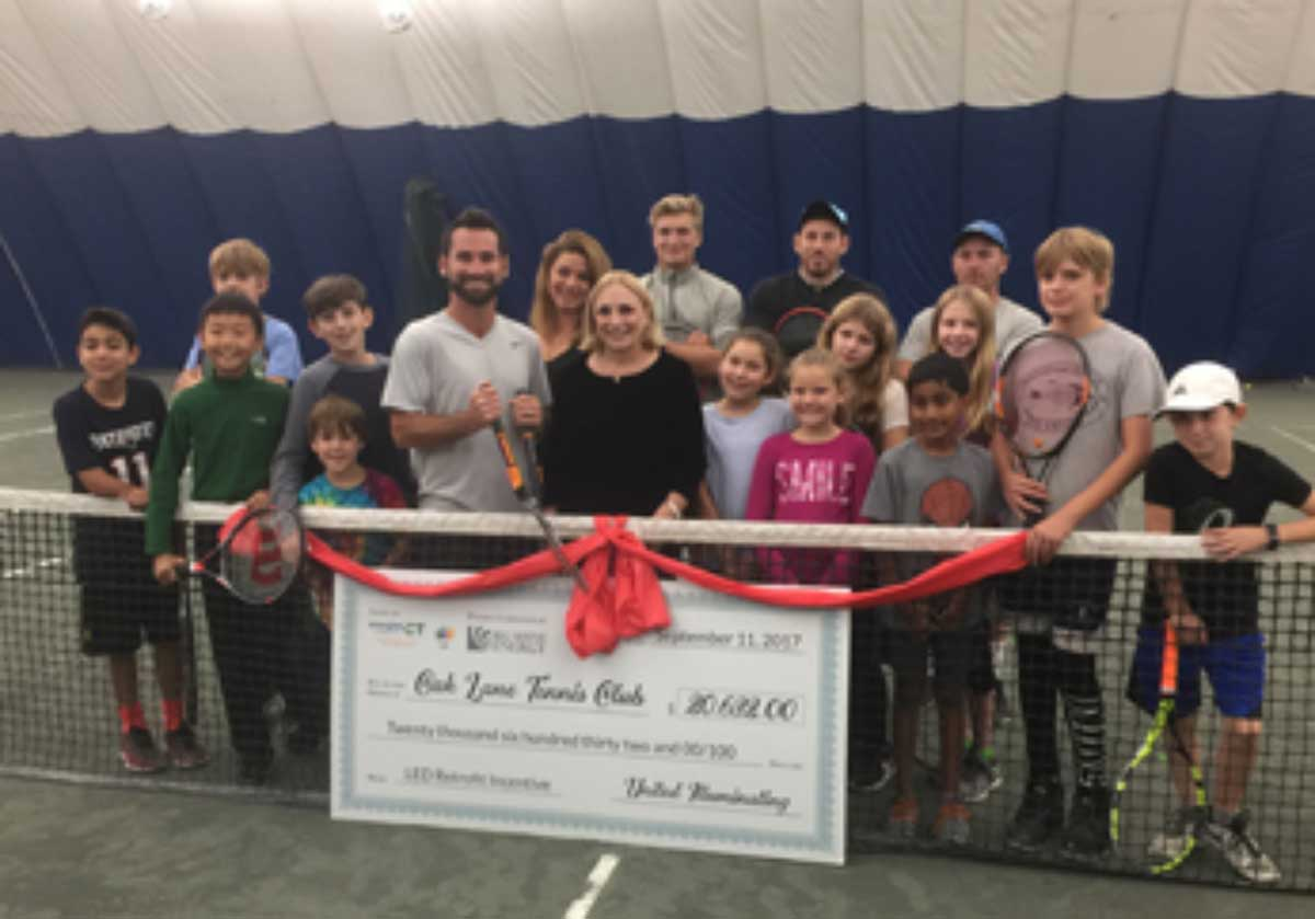 Oaklane Tennis Club Re-Opens