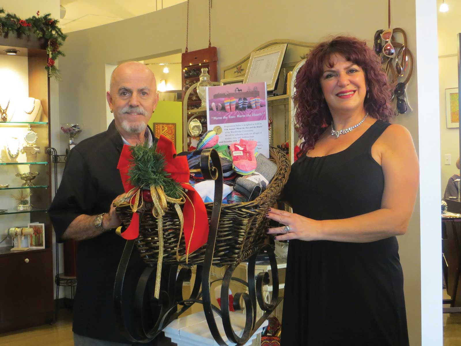 Progressions Salon Donates To Human Services