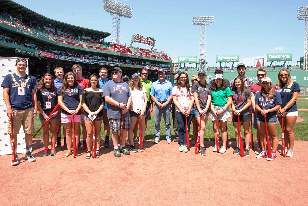 Red Sox Invite Amity Regional High School Students To Submit Applications For The 2018 Red Sox Service Scholarship