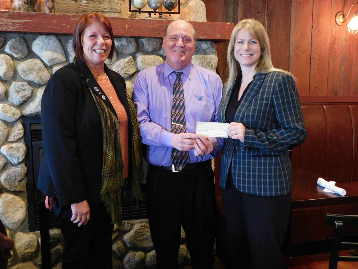 Rotary Presents Check To Marrakech, Inc.
