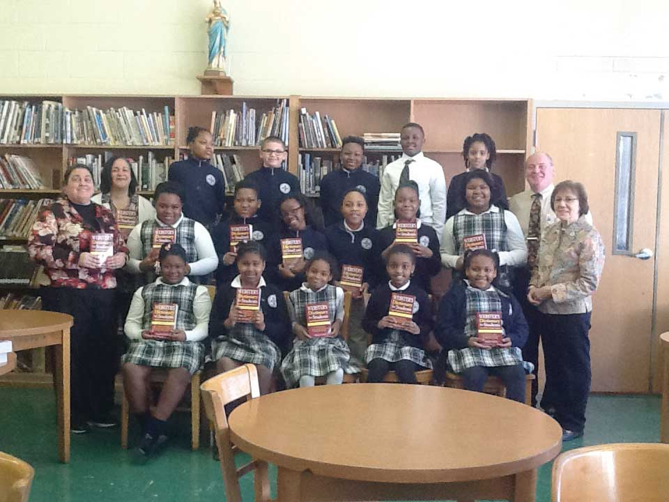 Rotary Club Donates Dictionaries To St Aedan-St. Brendan School