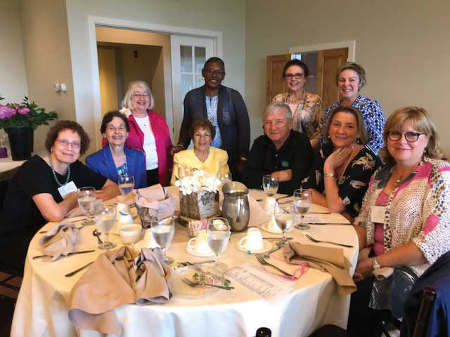 The Garden Club of Woodbridge Holds Annual Luncheon