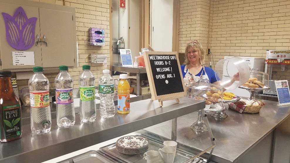 Meetinghouse Café Opens