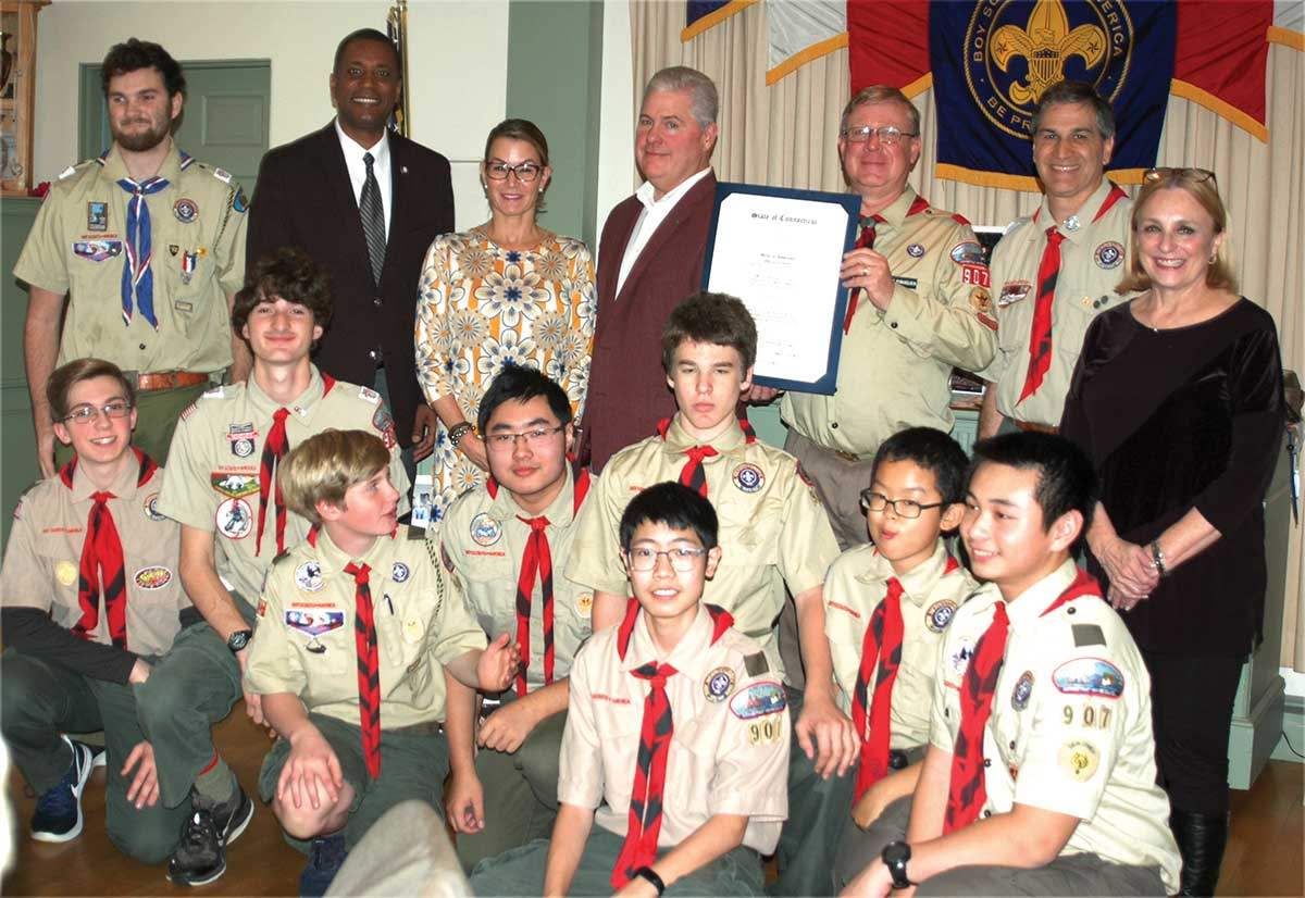 Troop 907 Takes A Look Back And Celebrates The Present