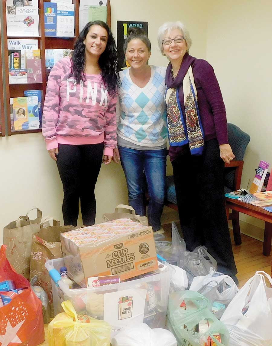 Surreybrook School Donates Food To Woodbridge Food Pantry