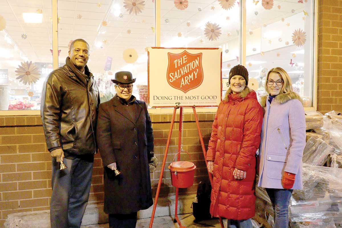 Area Lawmakers Help Raise Money for Salvation Army