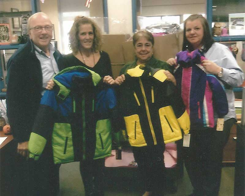 Knights of Columbus Trinity Council 5467 Distributes 468 Coats