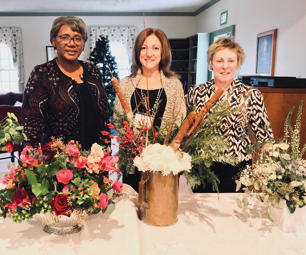 Garden Club of Woodbridge January Meeting