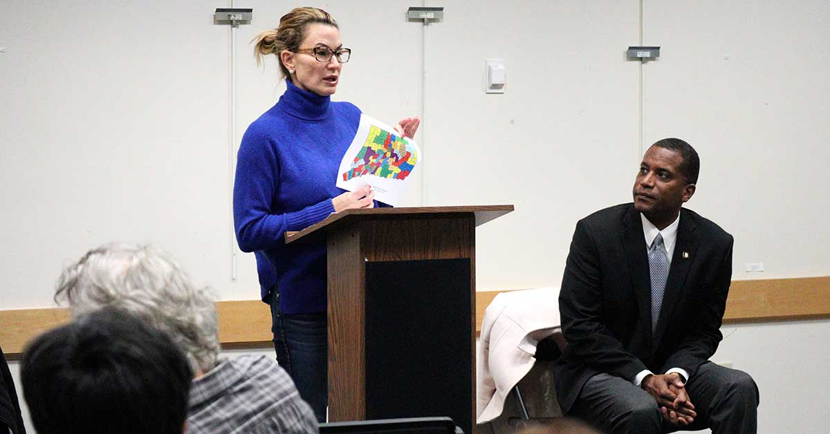 Rep. Klarides, Sen. Logan Host Woodbridge Town Hall Meeting