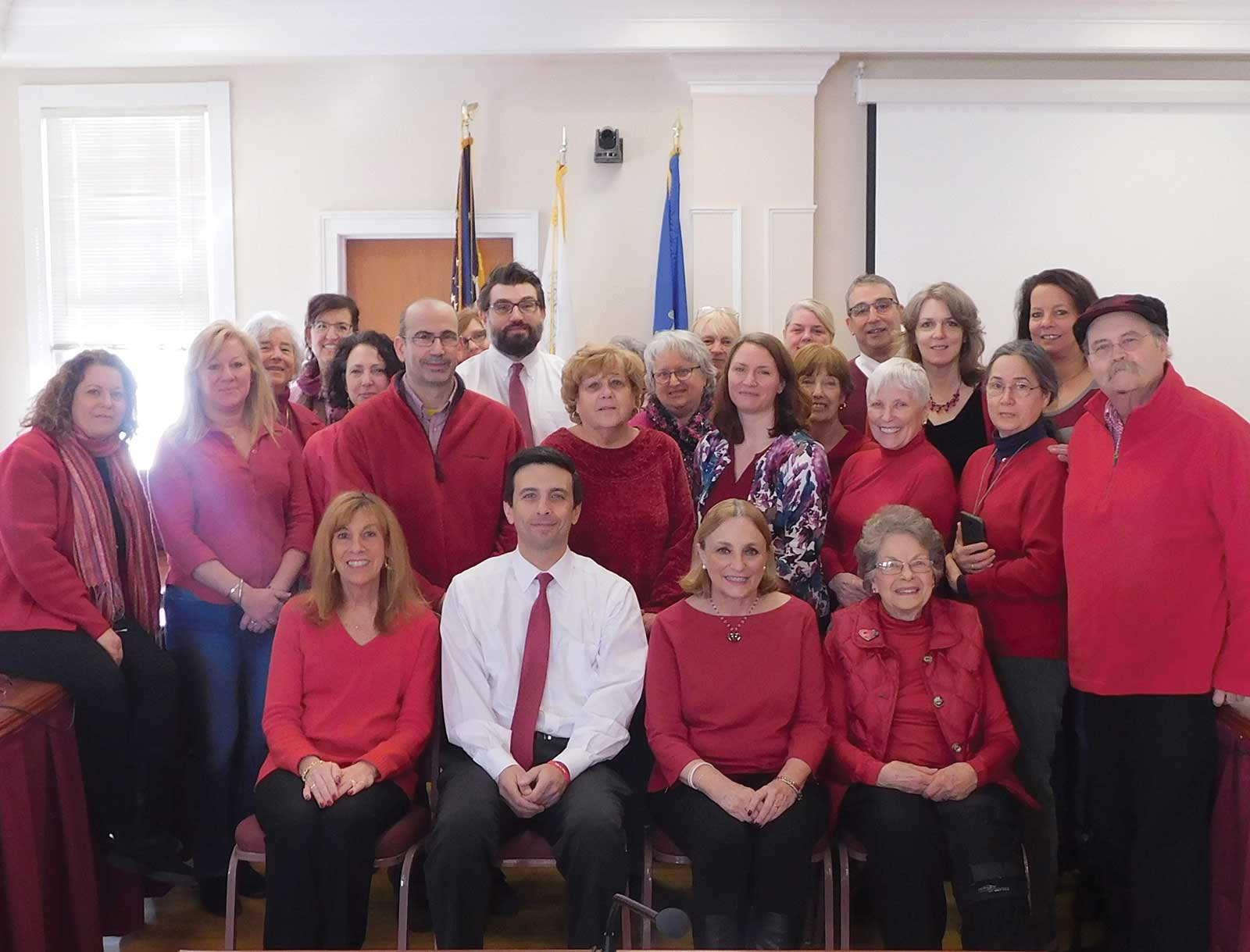 Woodbridge Employees Participate in American Heart Association's Wear Red Day