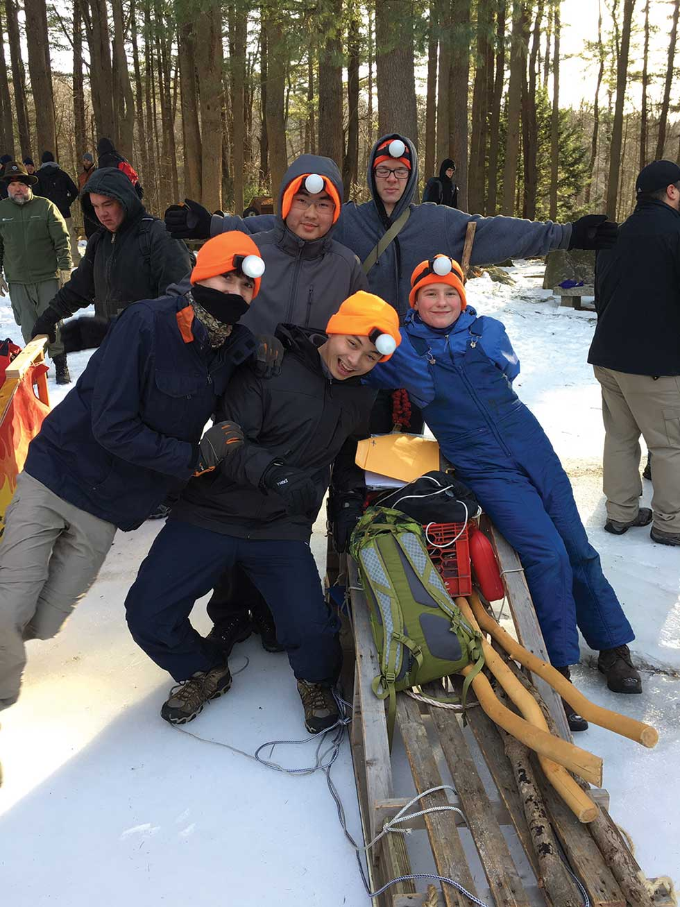 Woodbridge Boy Scout Troop 907 Prevails At Annual Klondike Derby