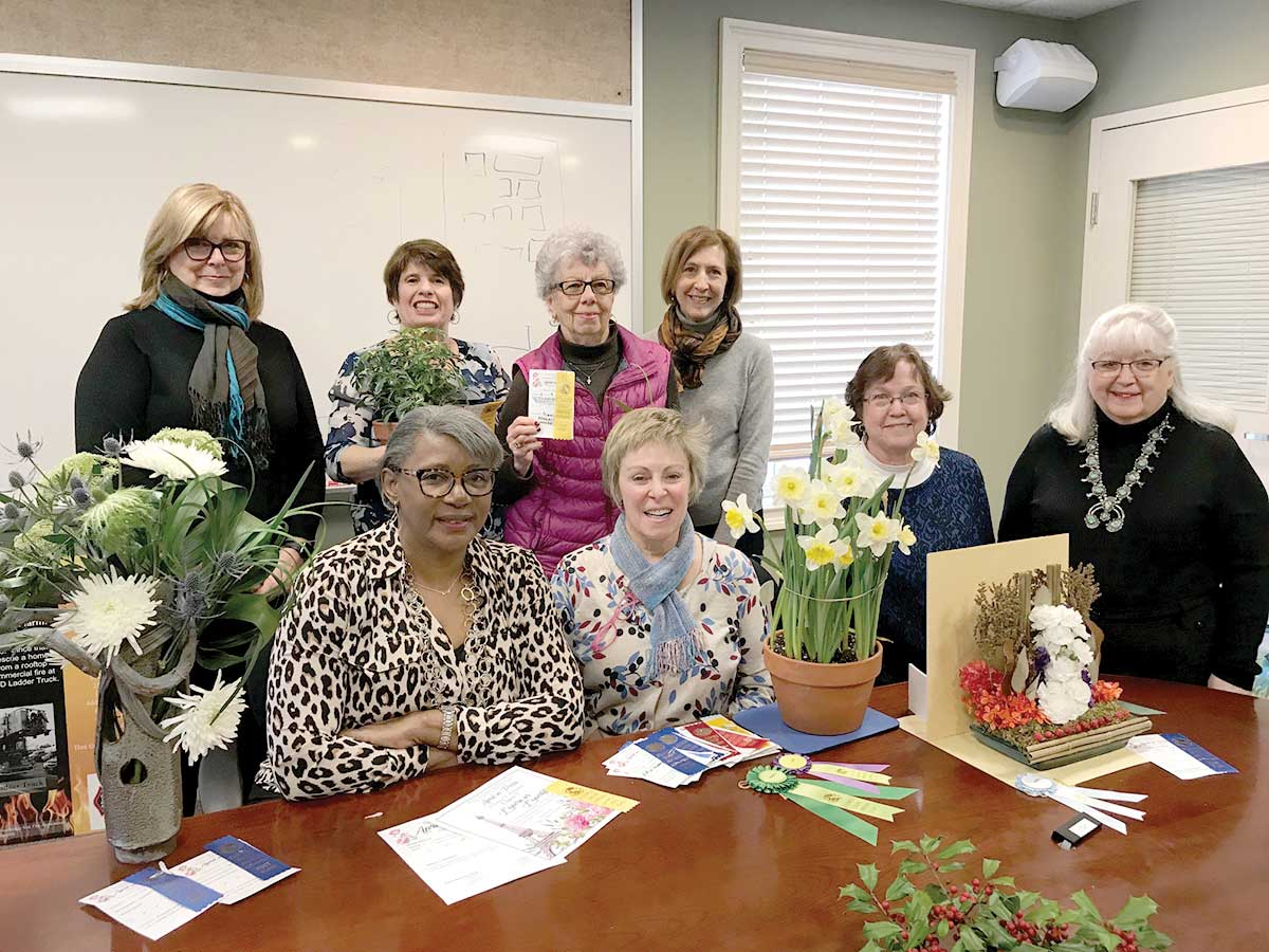 Woodbridge Garden Club Wins Numerous Awards At Connecticut Flower and Garden Show