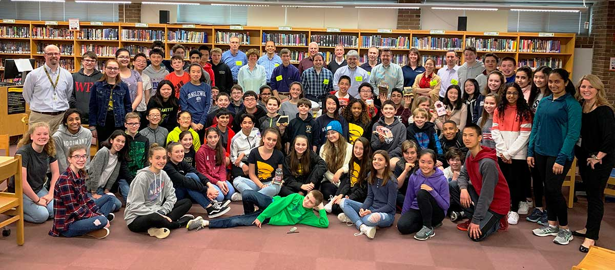 Real World Engineering for Amity Regional Middle School Students