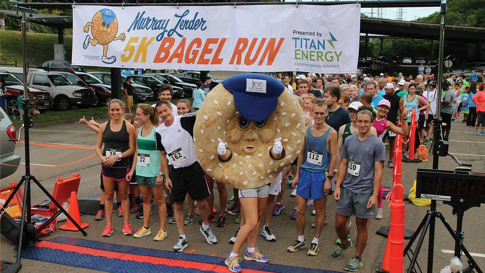 On Your Mark, Get Set, Bagel Run!