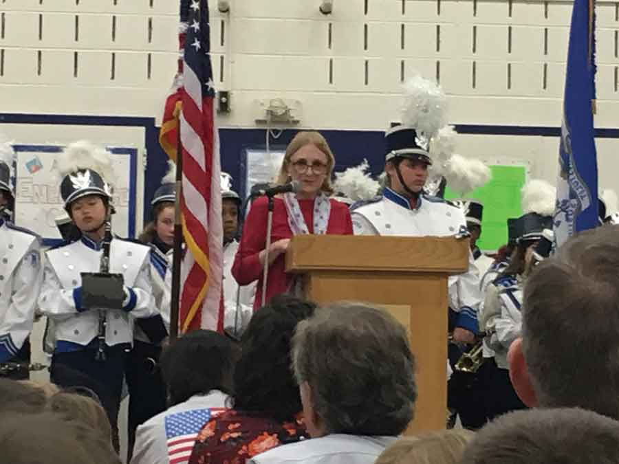 Beecher School Honors Veterans