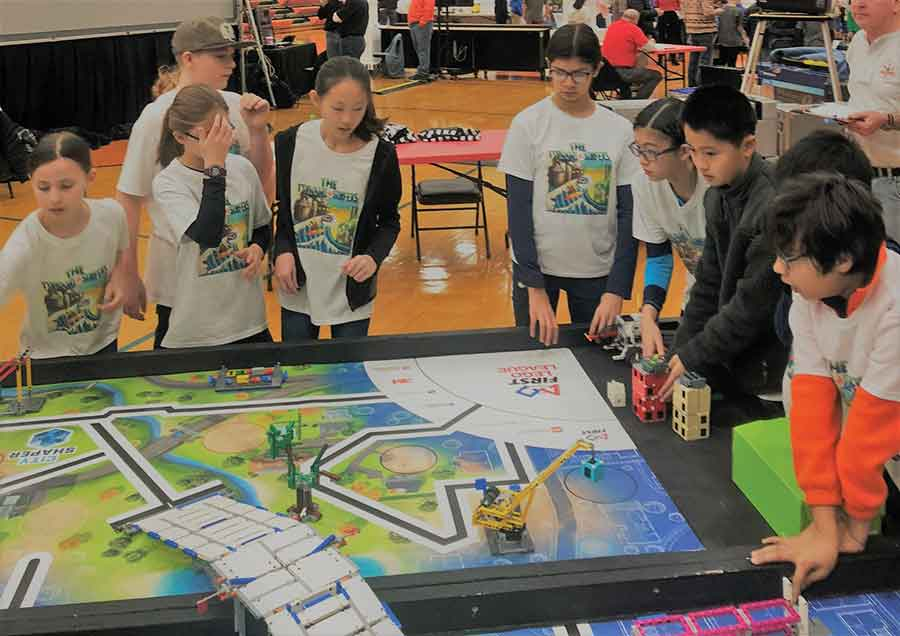 Youngsters Take On Local Problems In Lego League