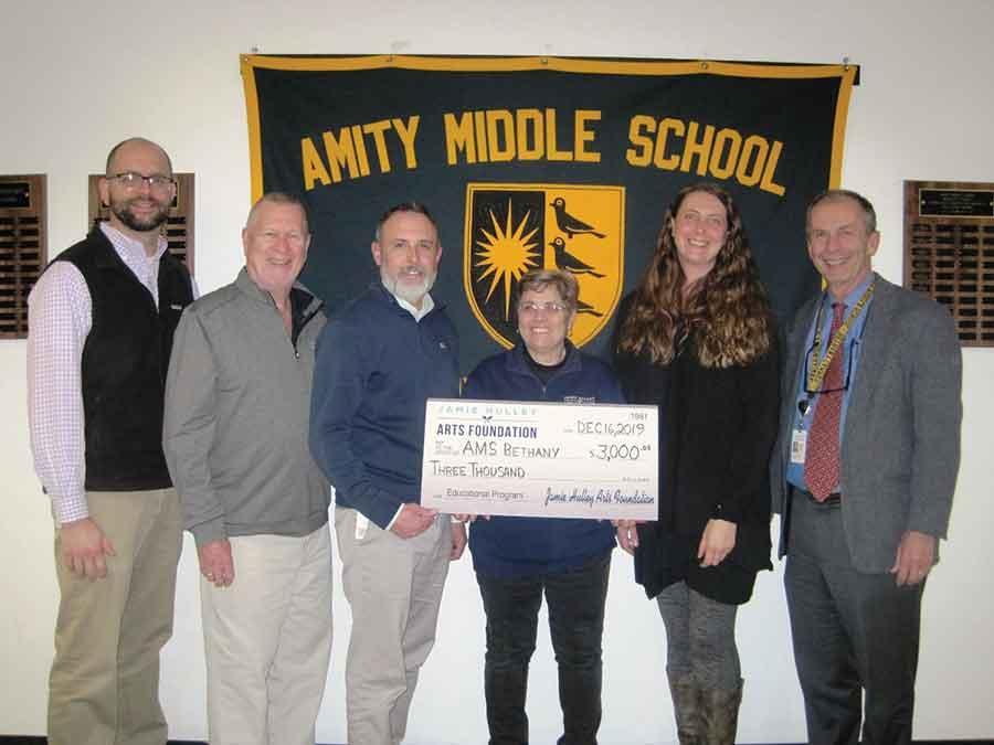 Amity Middle School - Bethany Campus Receives $3,000 in Hulley Arts Foundation Grants