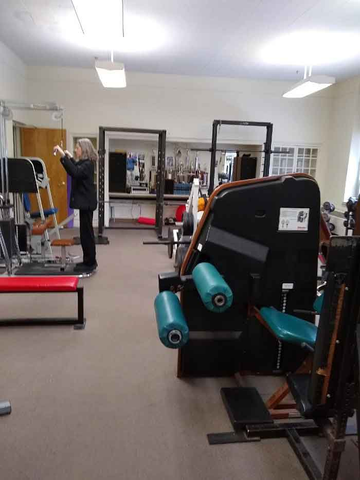 Did You Know The Woodbridge Rec. Department Offers A Fitness Center?