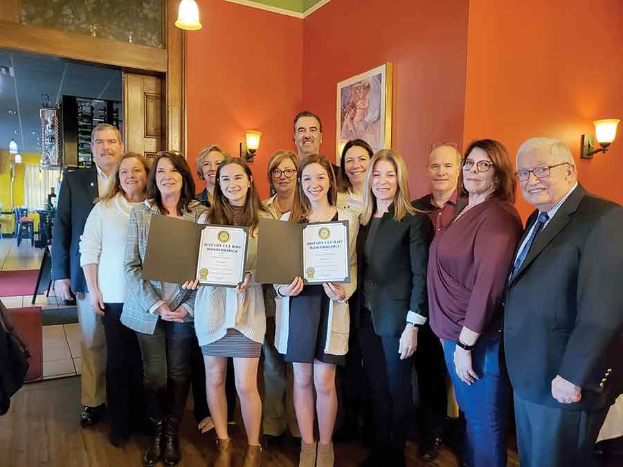 Woodbridge Rotary's Students of the Month