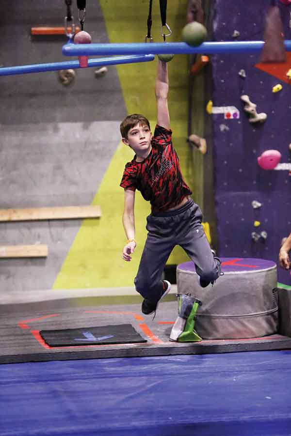 Moran Competes in Ninja League World Finals