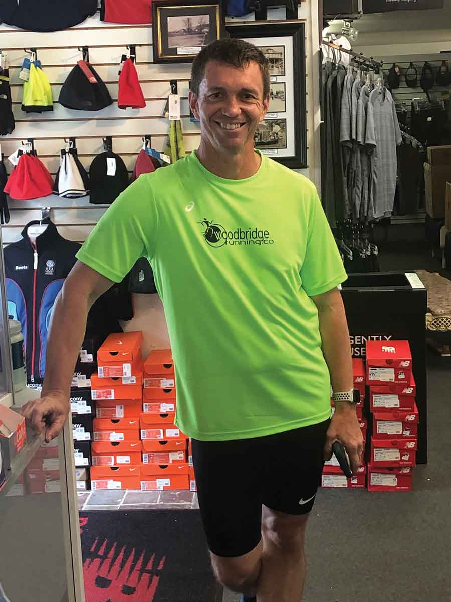 Runner Trains for Marathon by Running on Every Street in Woodbridge