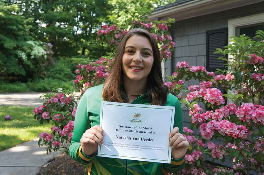 Heronettes Announce June Swimmer Of The Month